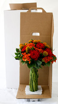 Heroes Flowers Packaging